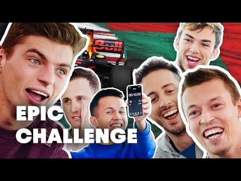 MotoGP Riders vs F1 Drivers: Team Challenge