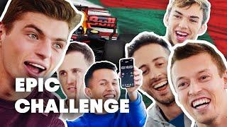 MotoGP Riders vs F1 Drivers: Team Challenge