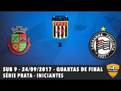 Itapevi 1x3 Lausanne Paulista F.C. - sub 9 quartas de final