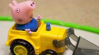 Мультфильмы про машинки и Свинка Пеппа. Форсаж в Истории игрушек.  Мультики для детей про трактор