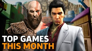 New Releases - Top Games Out This Month -- April 2018
