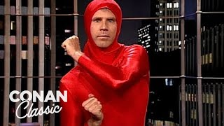 """Will Ferrell Performed Improv For The O.J. Simpson Jury - """"Late Night With Conan O'Brien"""""""