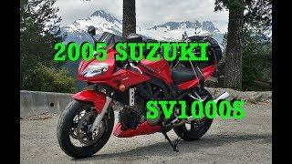 2005 Suzuki SV1000s  -  The day I brought home the beast.