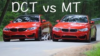 Dual Clutch vs Manual Transmission (DCT vs MT)  BMW M4 & M3