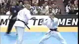 karate kyokushin david vs goliath
