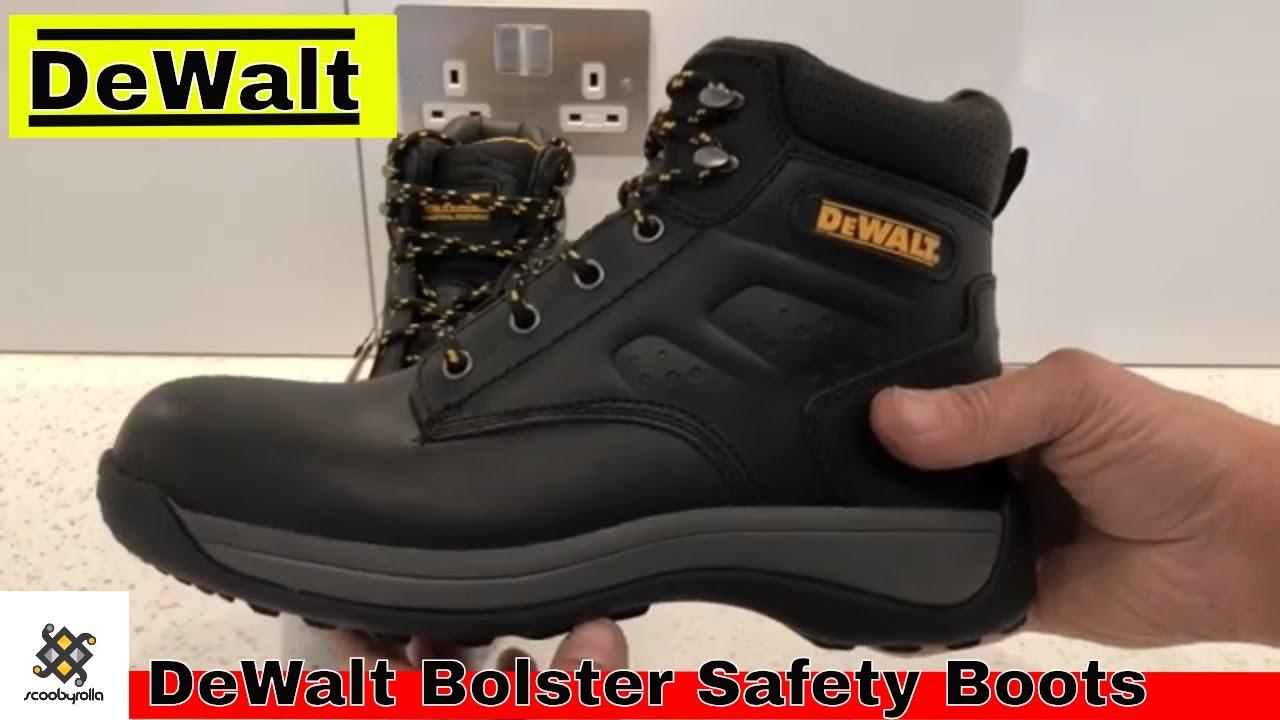 581db451174 DeWalt Bolster Safety Boots Unboxing