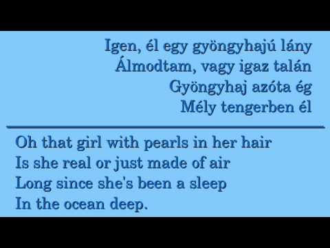Omega - Gyöngyhajú lány / Pearls in her hair (hungarian / english lyrics)