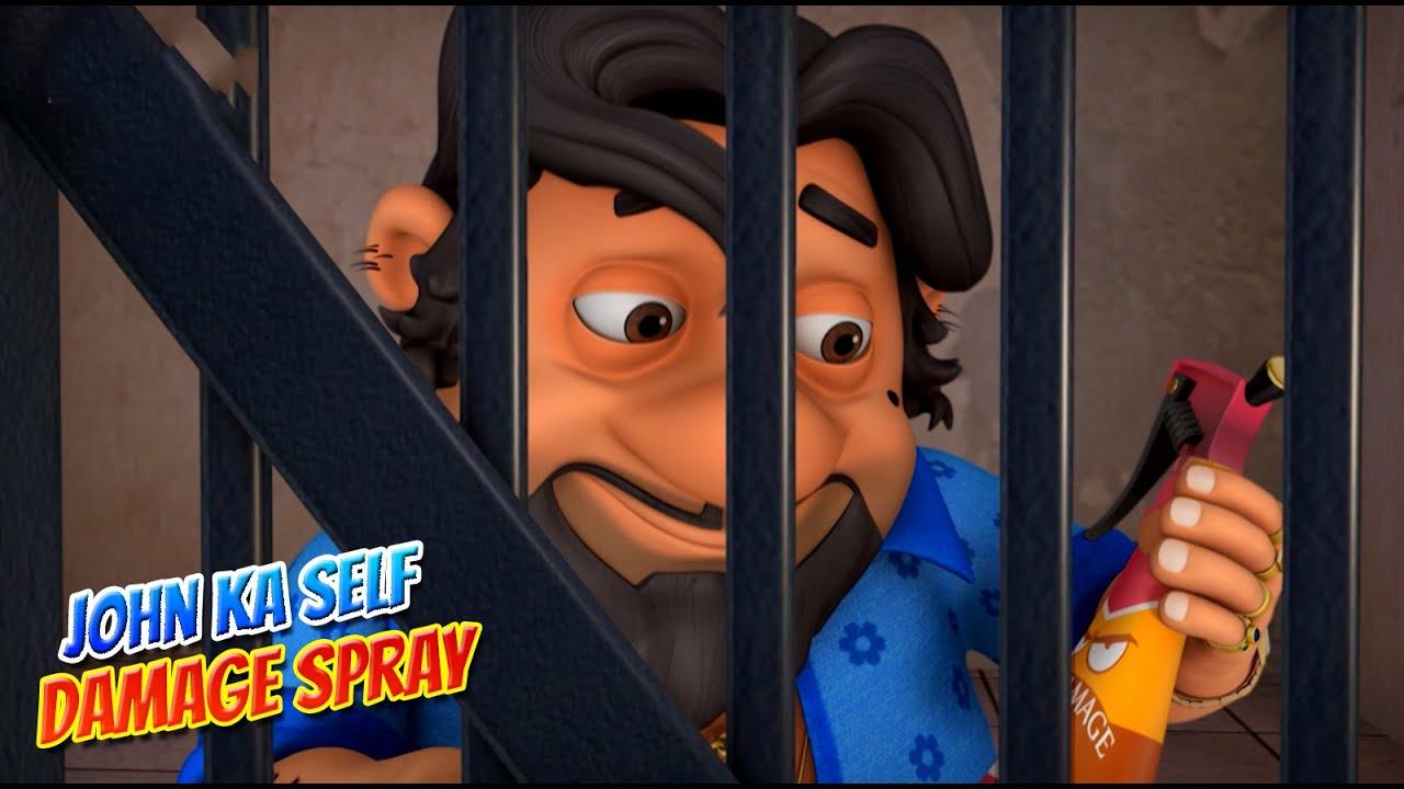 Download Motu Patlu in Hindi    मोटू पतलू    Self Damage Spray   S09   Hindi Cartoon