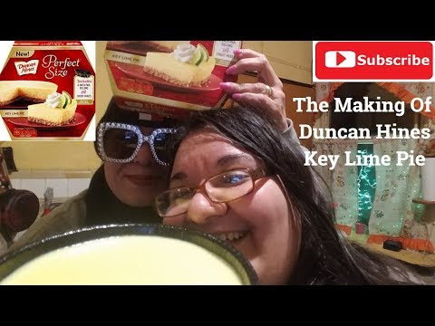 How To Make Duncan Hines Perfect Size - Key Lime Pie (From The Dollar Tree)!!