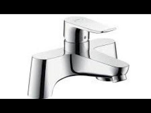 Unboxing Hansgrohe Metris Deck Mounted Bath Filler - YouTube