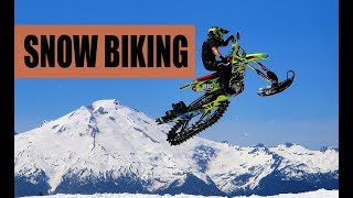 видео Сноубайк - это: что такое snow bike