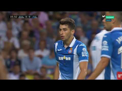 Real Madrid vs Espanyol Jornada 7 01/10/17 2-0 (Partido completo)