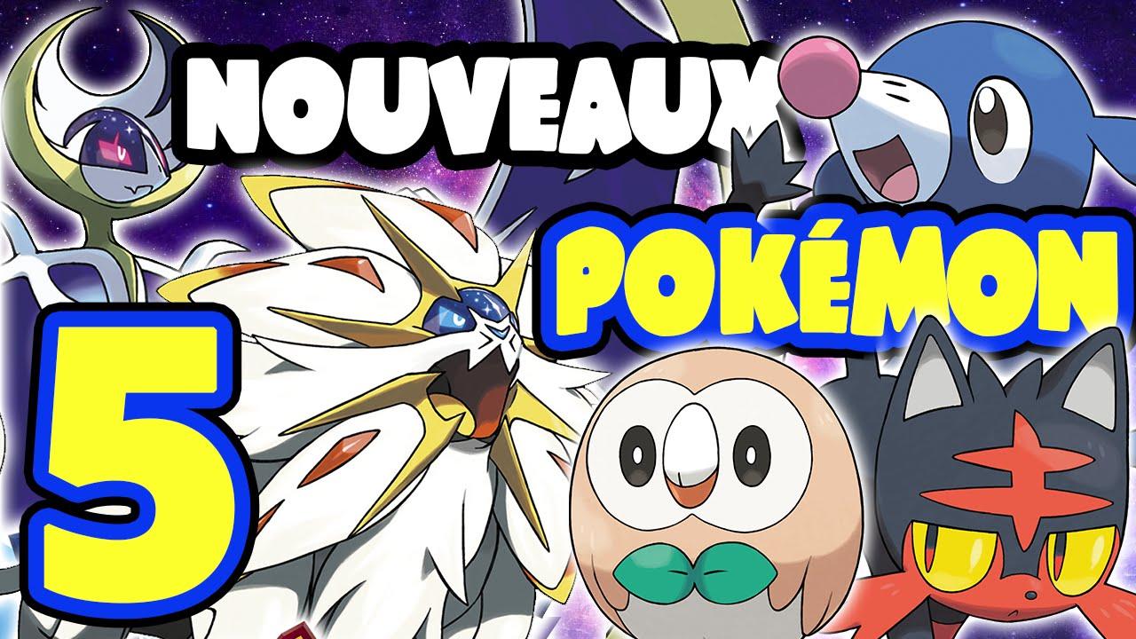 5 Nouveaux Pokémon Pokémon Soleil Lune Légendaires