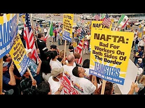NAFTA at 20: Lori Wallach on U.S. Job Losses, Record Income Inequality, Mass Displacement in Mexico
