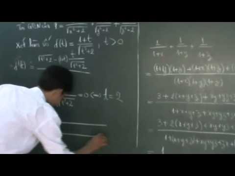 Bất đẳng thức [ trích đề thi thử lần 3 của nguoithay.vn ]