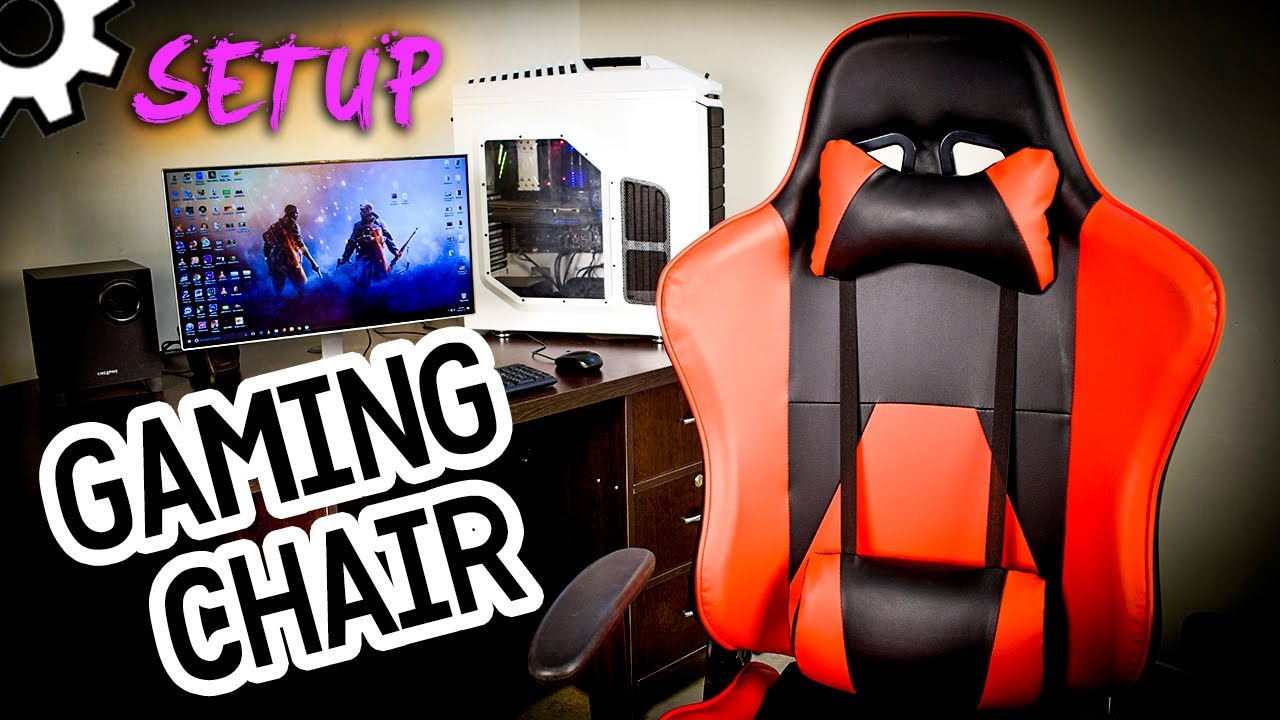 zeus thunder ultimate gaming systems chair low seating chairs how to setup online assembly tutorial step by