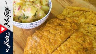 Çıtır Tavuk Şinitzel Nasıl Yapılır? | Evde Şinitzel Tarifi - Arda'nın Mutfağı