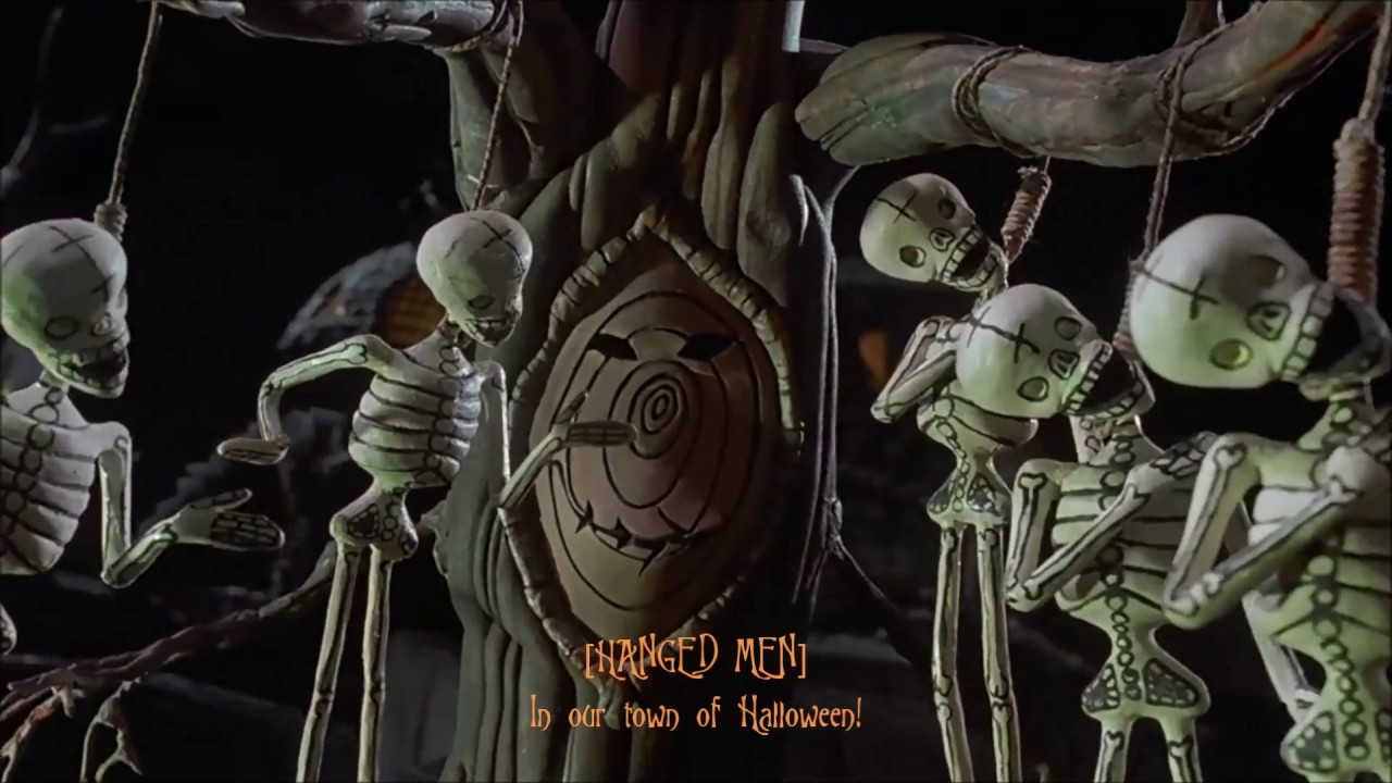 Nightmare Before Christmas - This is Halloween with Lyrics - YouTube
