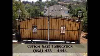 Gate Repair San Diego (858) 433- 4445