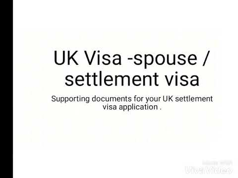 Detailed supporting documents UK spouse /settlement Visa -Nigerian applicant