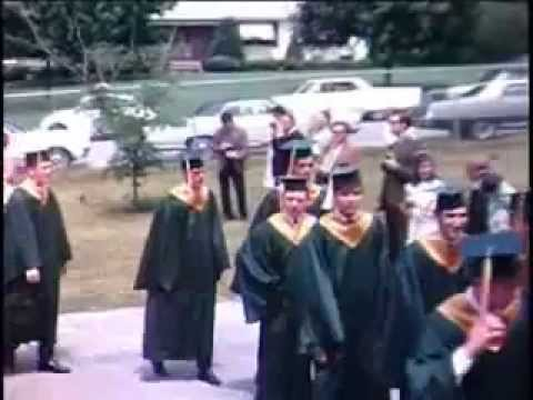 MERCY HIGH SCHOOL CLASS OF 69 GRADUATION  JUNE 15 1969.WMV