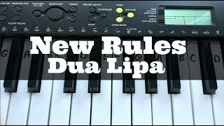 new-rules-dua-lipa-easy-keyboard-tutorial-with-notes-right-hand