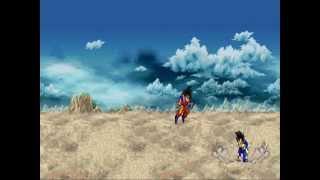 Goku Vs Vegeta gif SFX REMAKE