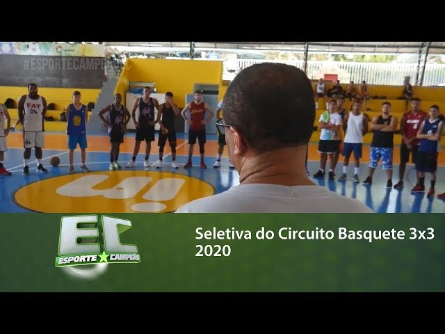 Seletiva do Circuito Basquete 3x3 2020