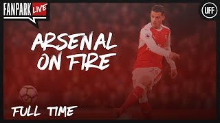 Arsenal 3 - 1 AC Milan - Full Time Phone In - FanPark Live