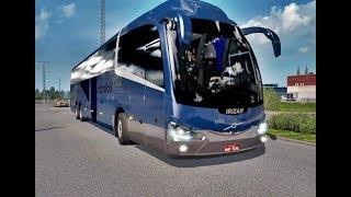 ETS2 1.35, Bus iRizar i6 Volvo 6x2,