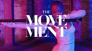 Wakandan Warrior Marija Abney on Black Panther, and the Beauty of Being Bald | The Movement | ELLE