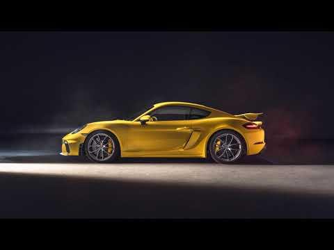 The all new Porsche 718 Cayman GT4 2020