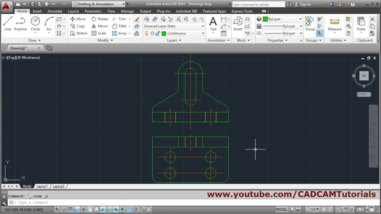 Where can i find some complete online tutorials for autocad (for.