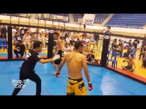 "War in the Cage 5 [Fight 21]: ""ลำนารายณ์ vs Berzerker"" Flyweight (-125lb)"