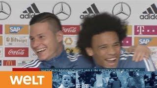 NATIONS LEAGUE: Pressekonferenz der Nationalmannschaft