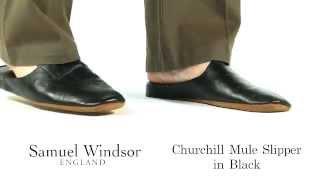 samuel windsor outdoor mule black