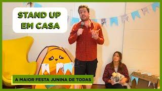 FESTA JUNINA COM CORONAVÍRUS? - STANDUP (COM EMILY) EM CASA #14