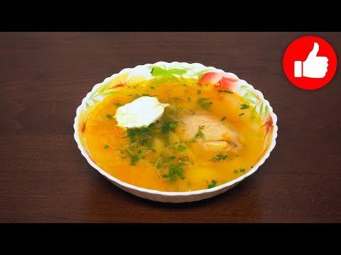 Суп из куриного филе в мультиварке