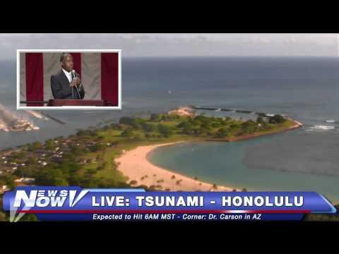 FNN: Campaign 2016 Updates, Tsunami Watch - Honolulu,  Steve Krafft in Los Angeles