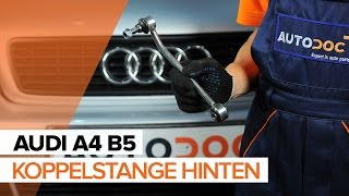Wartung Audi Q3 8u Video-Tutorial