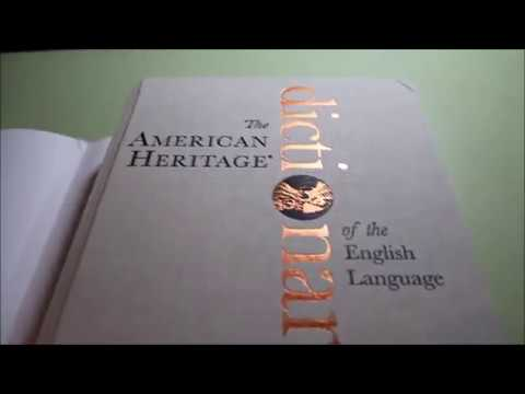 American Heritage Dictionary 5th Edition (Unboxing)