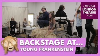 Backstage with: Young Frankenstein