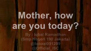 Download Mother How Are you Today Lyric with Lyric Maywood