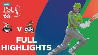 Full Highlights | Lahore Qalandars vs Peshawar Zalmi | Match 2 | HBL PSL 6 | MG2T