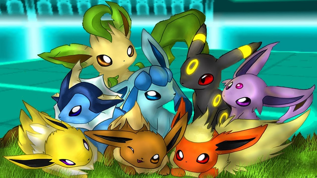 Tuto comment avoir toutes la famille d 39 voli pokemon ultra soleil et ultra lune e youtube - Famille evoli pokemon ...