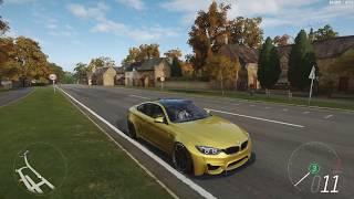 極限競速:地平線4 - 2014 BMW M4 COUPE 甩尾
