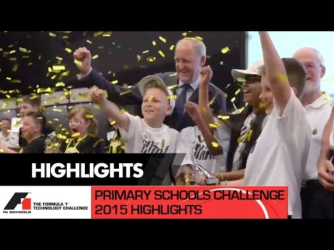 F1 in Schools - Jaguar Primary School Challenge - UK National Final 2015 - Highlights