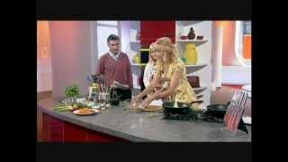 """carrot & Coriander Fritters"", Lisa Fearn, Prynhawn Da, S4c, 25th May 2012"