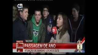 NAZARÉ PASSAGEM DE ANO 2014-15 CMTV 4º DIRETO