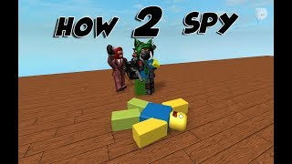 HOW 2 SPY IN Typical Colors 2 | Roblox